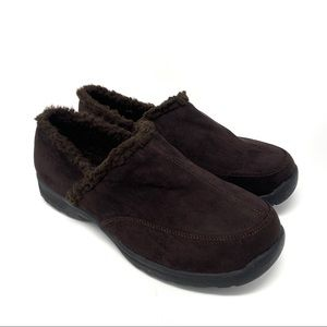 Comfortview Dandie Clogs Shoes Slippers Brown 11WW